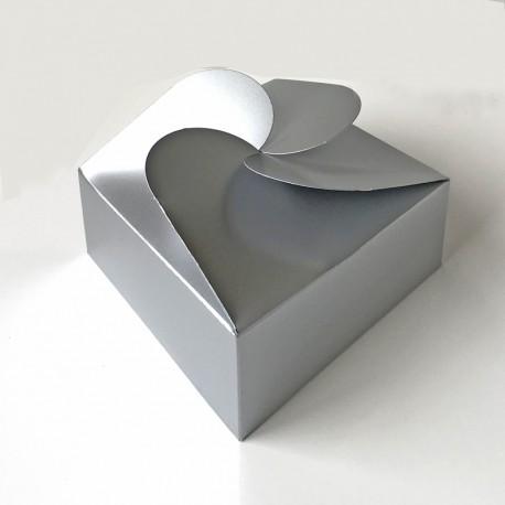 Geschenkschachtel F7, silber