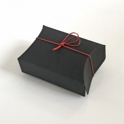 Geschenkschachtel F 10-5x5.5x2 cm-schwarz-50 Stück