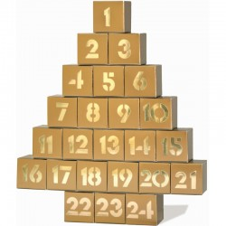 morphy Adventskalender gold