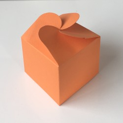 Geschenkschachtel F 5-orange-10 Stück