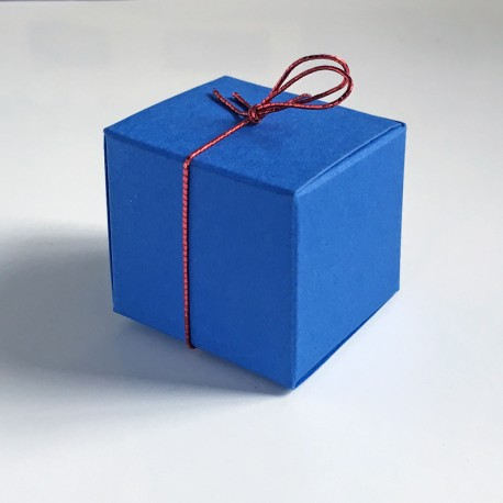 Würfel 3,5 x 3,5 cm, blau