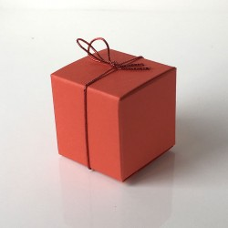 Würfel 4x4 cm-rot