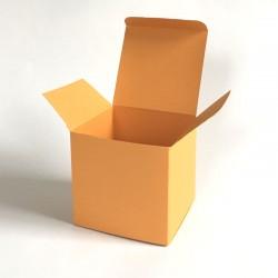 Geschenkschachtel Würfel 8x8 cm, uni