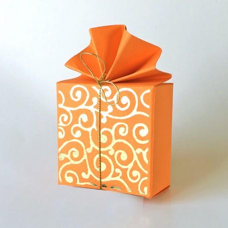 Geschenkschachtel FA 2 orient, orange