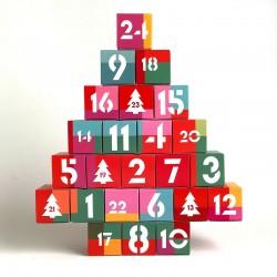Adventskalender white christmas, zum Befüllen