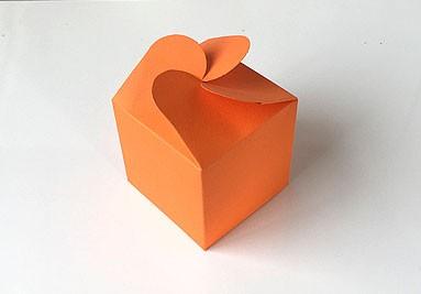 Geschenkschachtel F5, orange